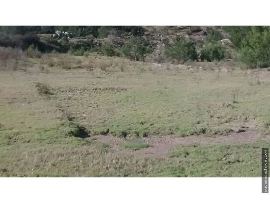 terreno cerca de real del monte