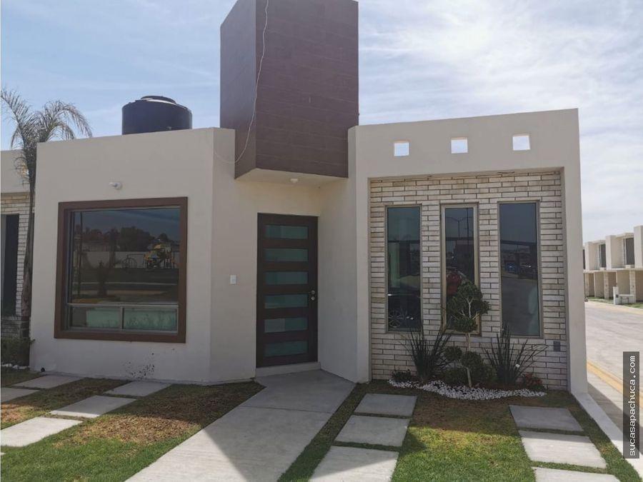 casa en fraccionamiento privado al sur de pachuca