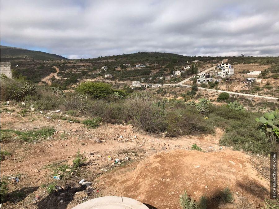 se vende terreno grande en san agustin tlaxiaca