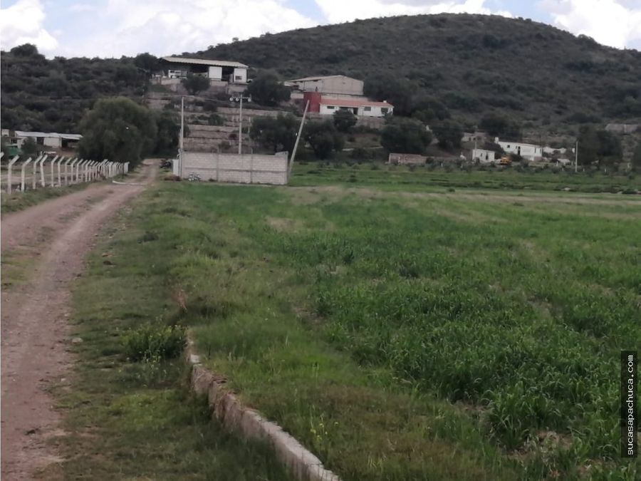 venta de terreno agricola carr pachuca sahagun