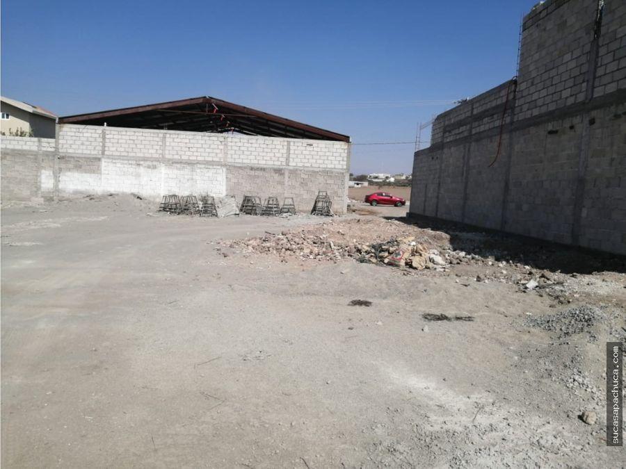 venta de terreno en ejido de santa juliampio de pachucahgo