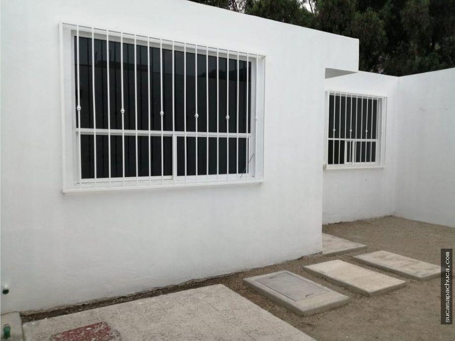 venta de casa en col san bartolo pachucahgo