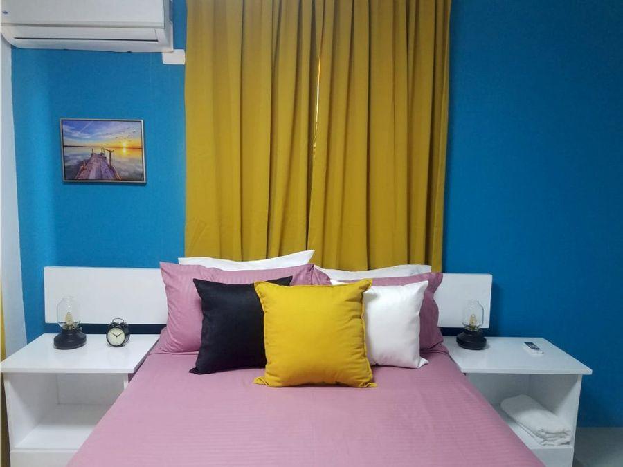 apartamento de 2 habitaciones en renta en cabrera