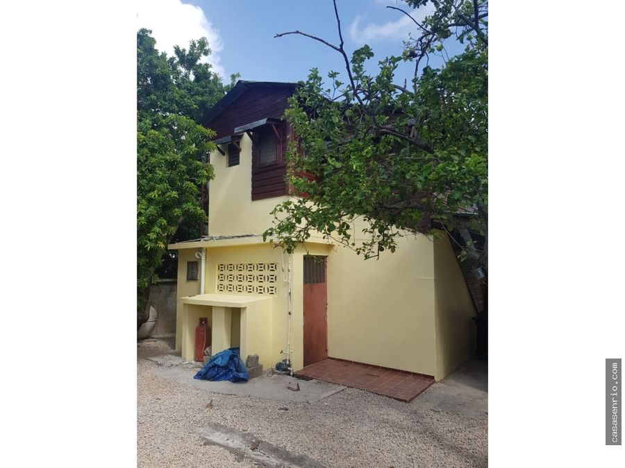 casa 3 habitaciones en rio san juan
