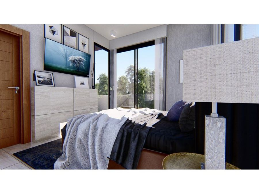 apartamento en venta de 1 habitacion en juanillo punta cana