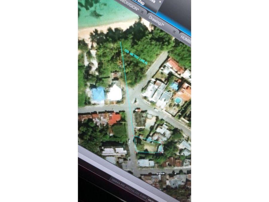 apartamento en venta a 1 minuto de playa los minos en rio san juan