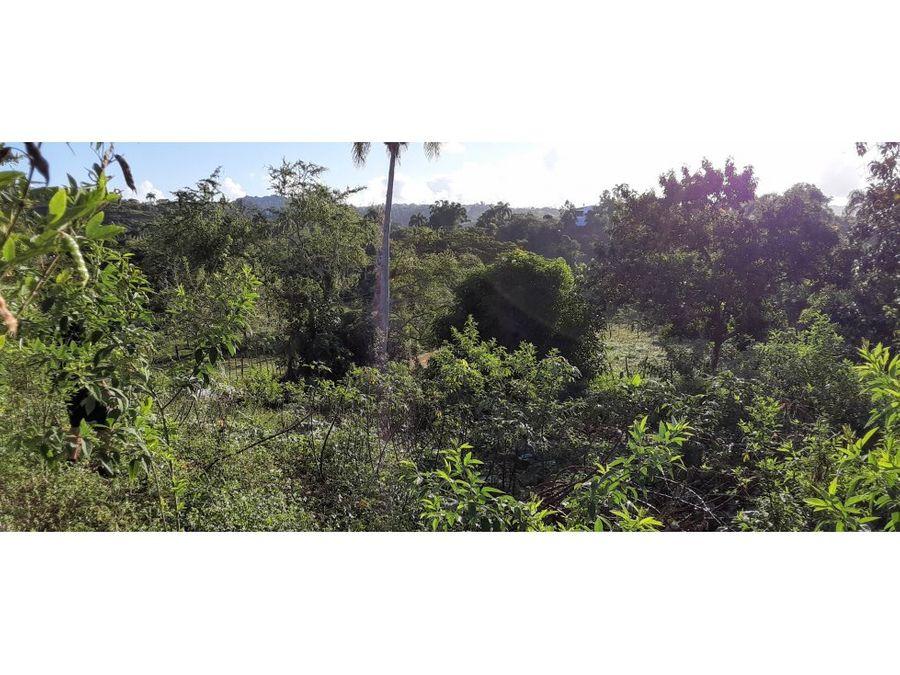 terreno en rio san juan republica dominicana