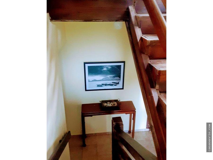 casa en venta en rio san juan a 3 min de playa grande