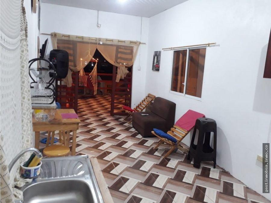 casa rentera en general villamil playas ecuador