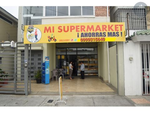vendo minimarket funcionando y al dia