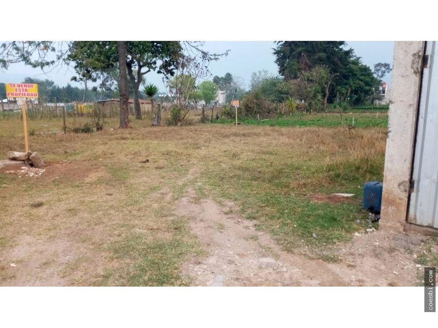 lote en zona 5 de chimaltenango cerca del hospital nacional