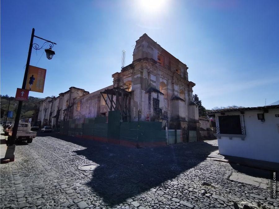 local comercial grande en antigua gt cerca de ruinas la concepcion