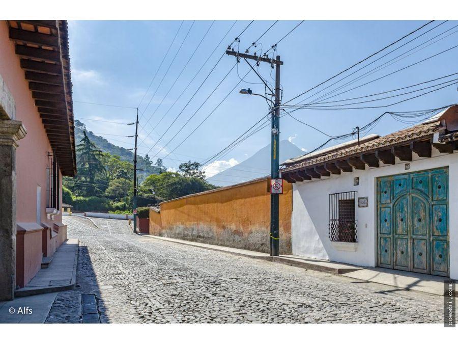 estancias cortas casa de 3 habs en el centro de antigua guatemala