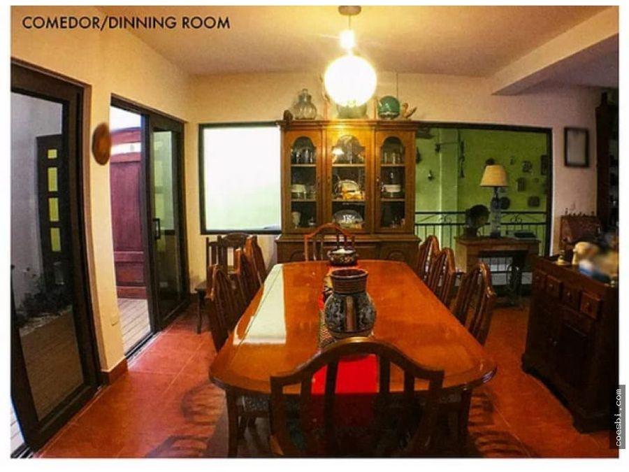 hermosa casa en venta en residencial hacienda el comendador