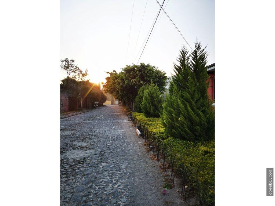 en venta terreno de 270mts2 en san pedro el panorama la antigua gt