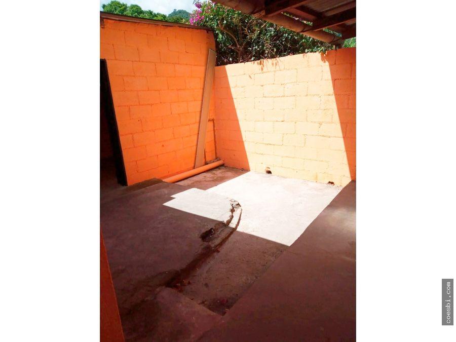 en renta casa de 2 habs en calle real de jocotenango cerca de la puma