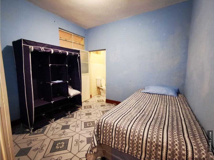 habitacion privada en renta en san pedro el panorama antigua guate