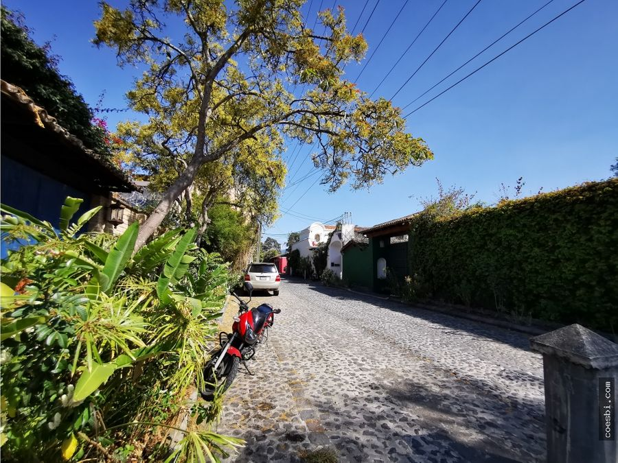 terreno de 10x20 en san pedro el panorama en antigua guatemala
