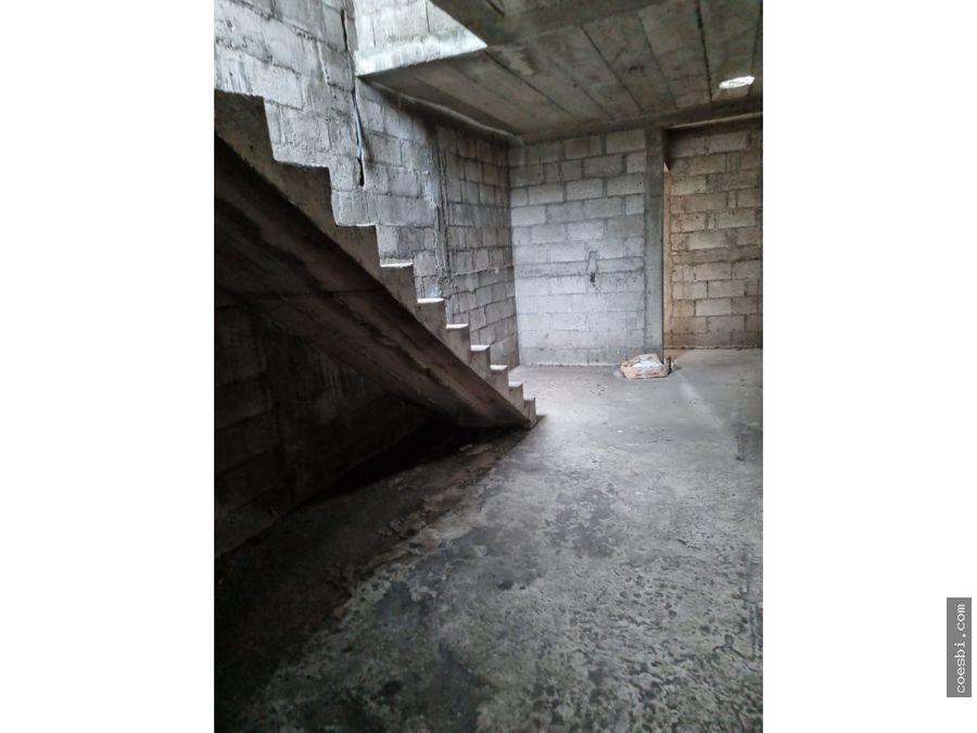en venta casa de 152mts2 en villas de palin escuintla obra gris