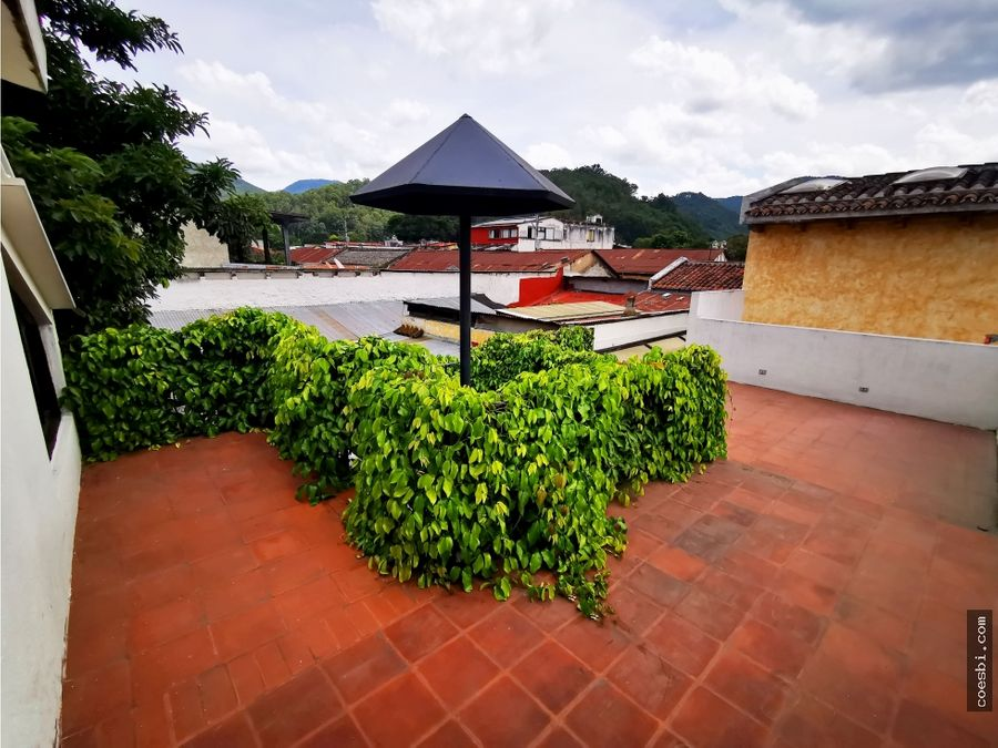 en renta oficina en cerca del parque san seb en la antigua guatemala