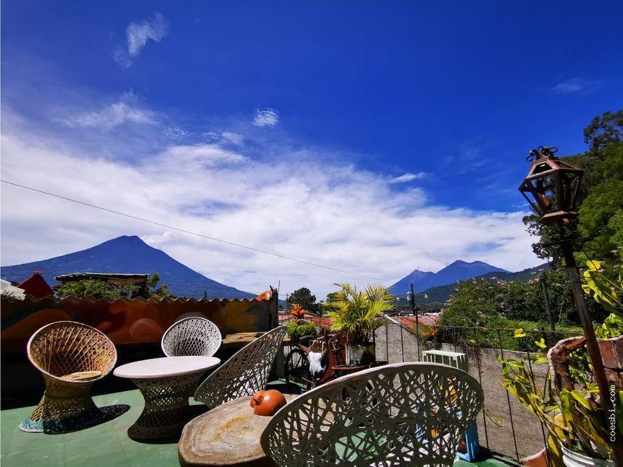 apartamento en renta cerca de la merced en antigua guatemala