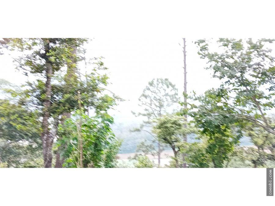 terreno grande en santo domingo el tejar chimaltenango