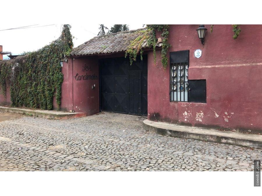 casa de tres habitaciones en el condominio los cardenales antigua gt