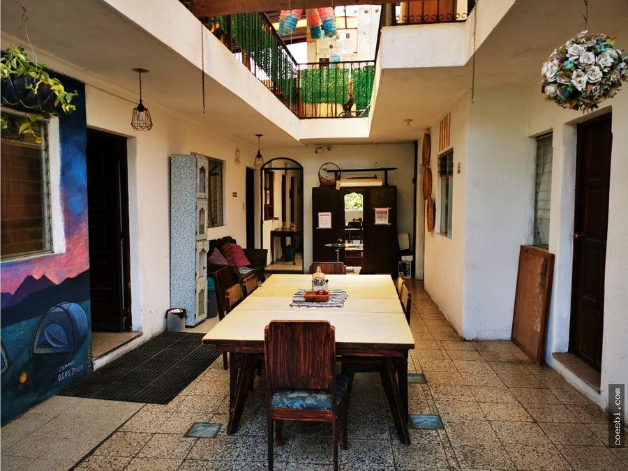 12 ambientes de un segundo nivel local en antigua guatemala renta