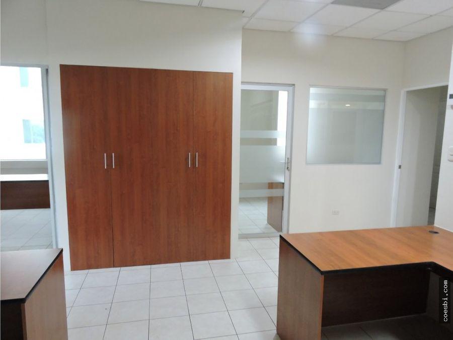 oficina grande en renta en la zona pradera zona 10