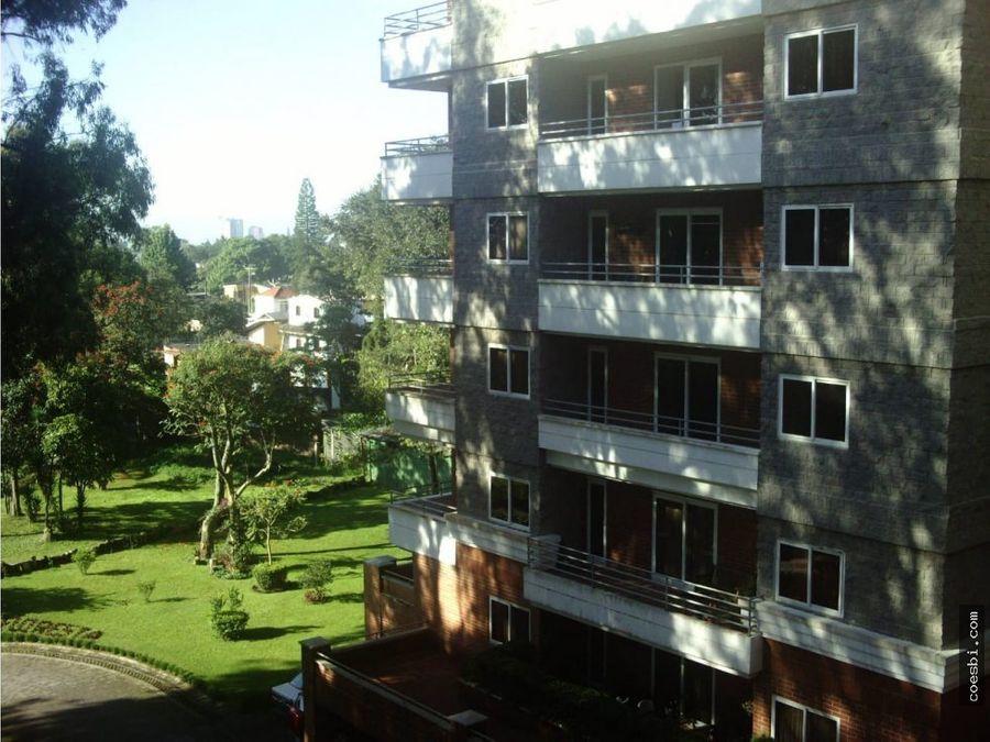 precioso apartamento en jardines de la floresta cd guatemala