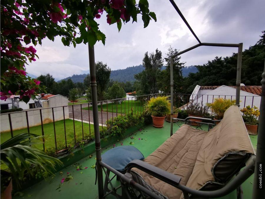 precioso apartamento dentro de residencial en la antigua guatemala