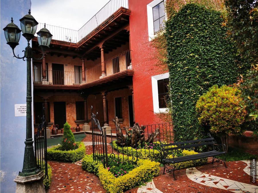 apto de dos habitaciones dentro de residencial en antigua guatemala