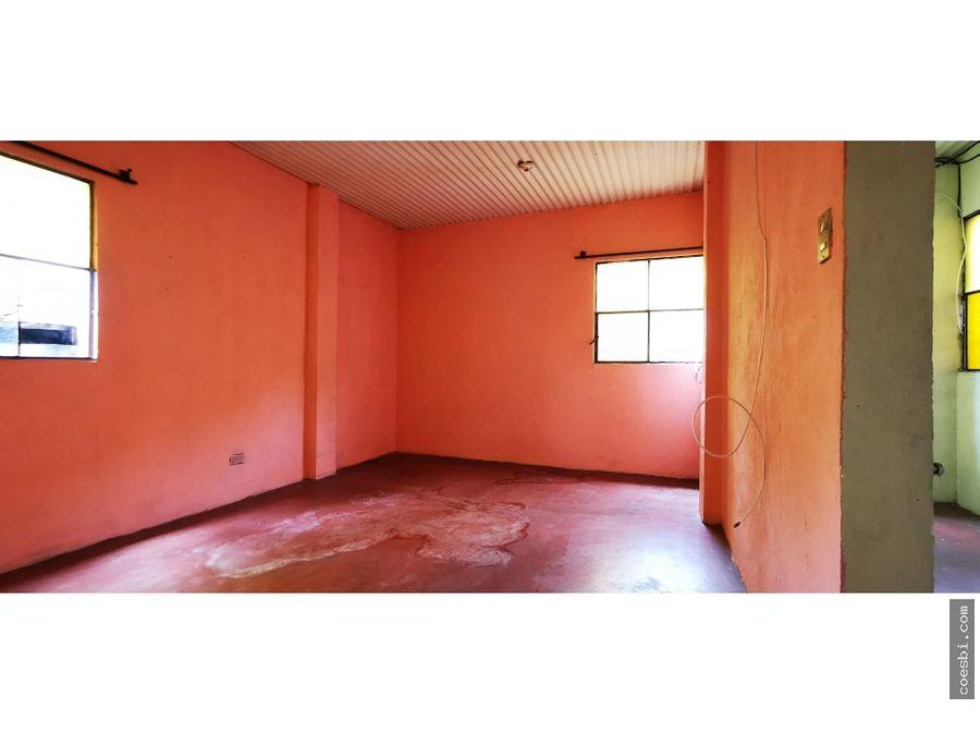 en renta apartamento de dos habitaciones en san gaspar vivar antigua