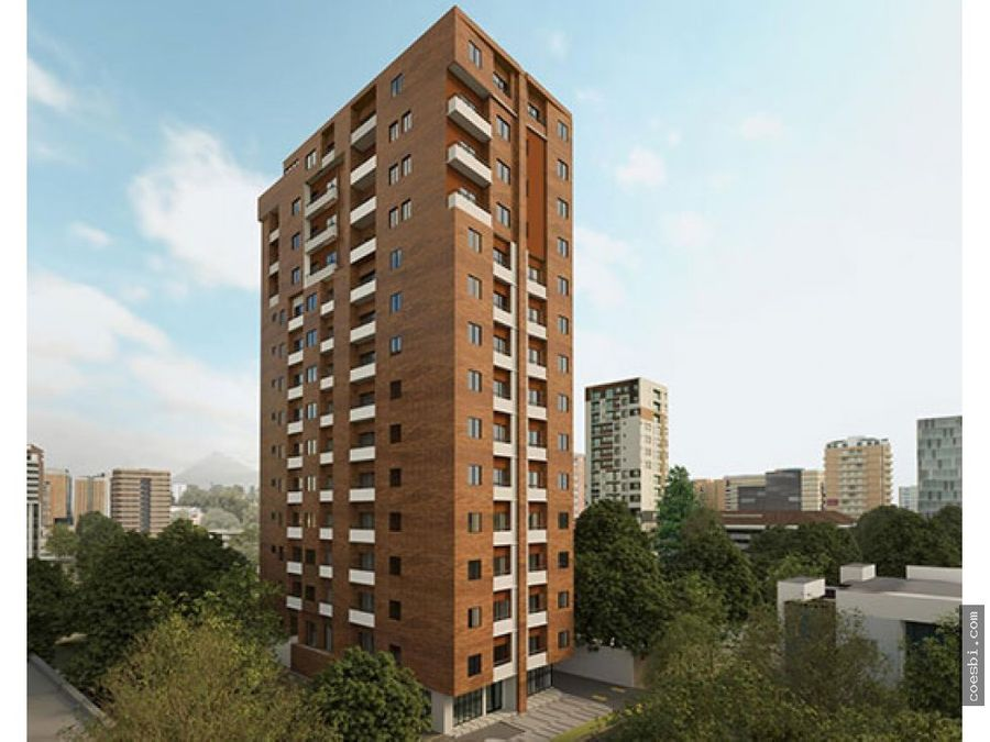 en venta apartamento de 2 habitaciones edificio salvattore zona 10