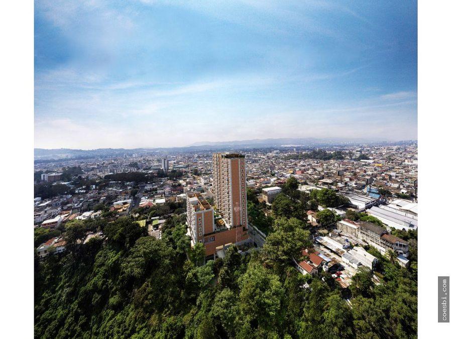 en venta apartamentos y estudios en el edif baldone zona 2 guatemala
