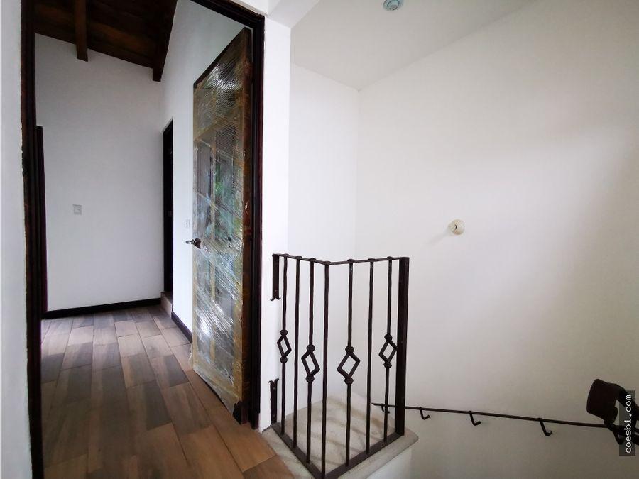 apartamento de dos niveles en residencial el cafetal san pedro las h