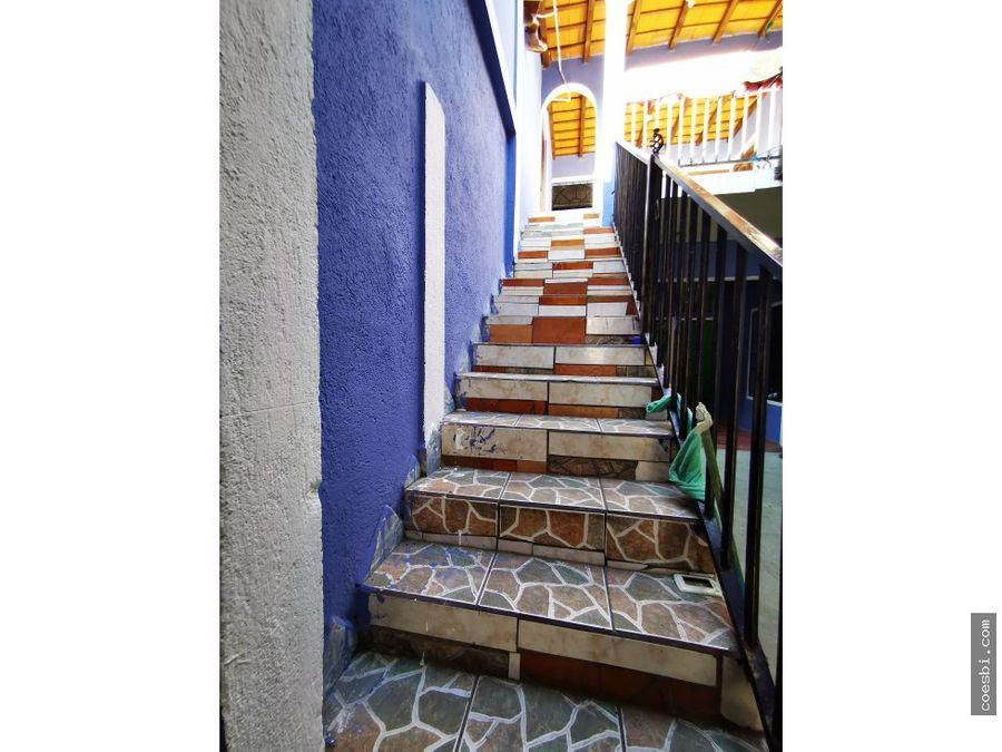 renta casa de 7 habitaciones ubicado 350mts de la plaza de jocotenango