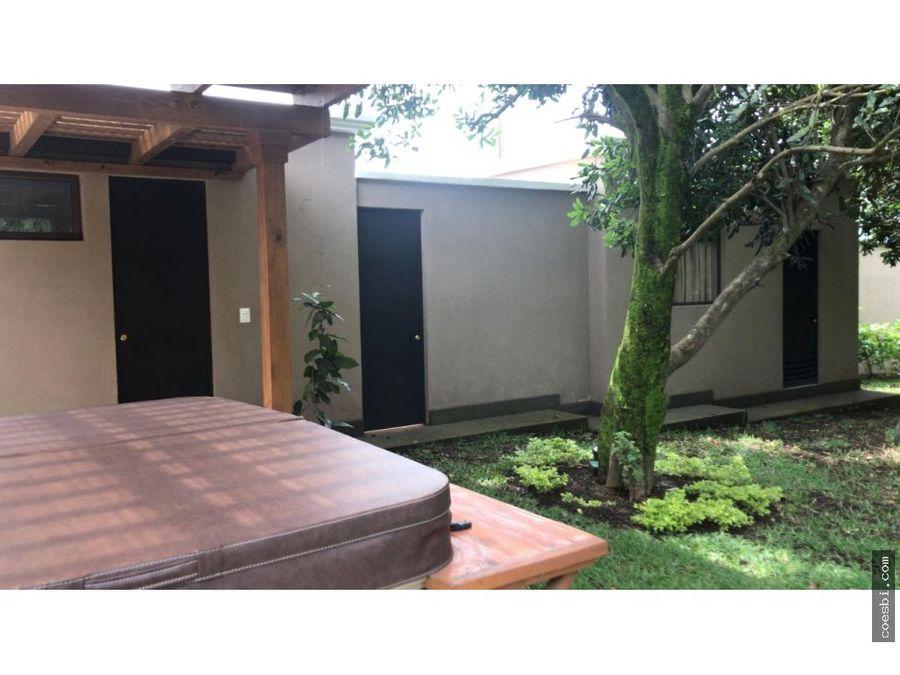 en ventarenta casa de 3habs dentro de residencial en san miguel duena