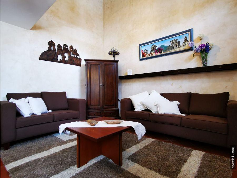 villa de una hab en exclusivo condominio cerca del tenedor del cerro