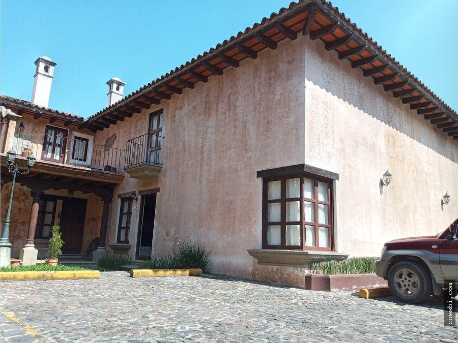 precioso town house en alquiler dentro de residencial en antigua g