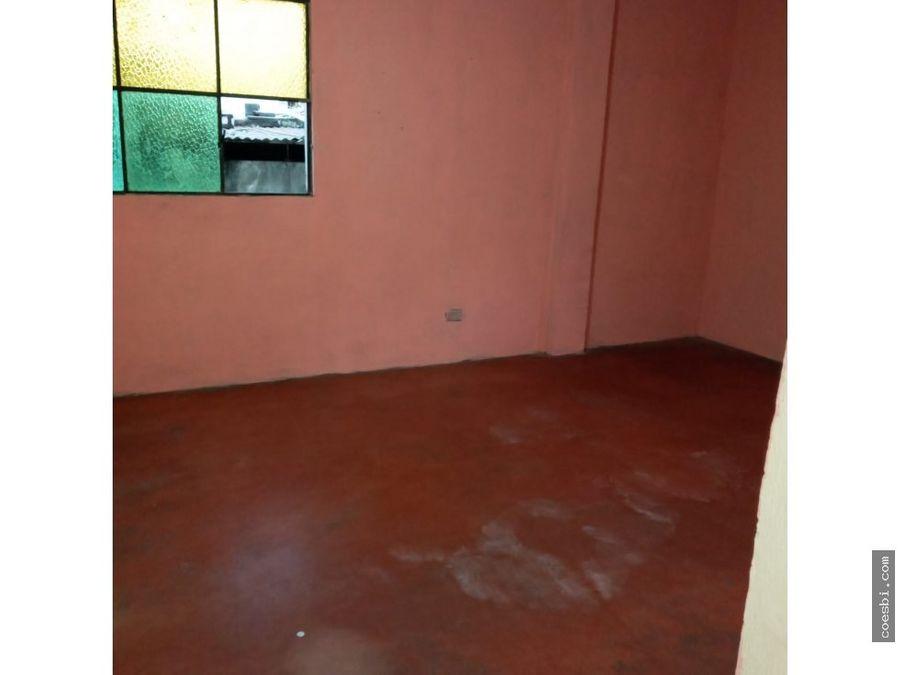apartamento en renta en la calle principal de san gaspar vivar