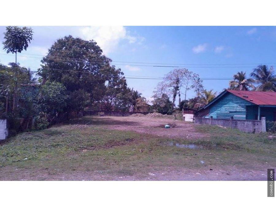 terreno grande ideal para inversion en izabal puerto barrios