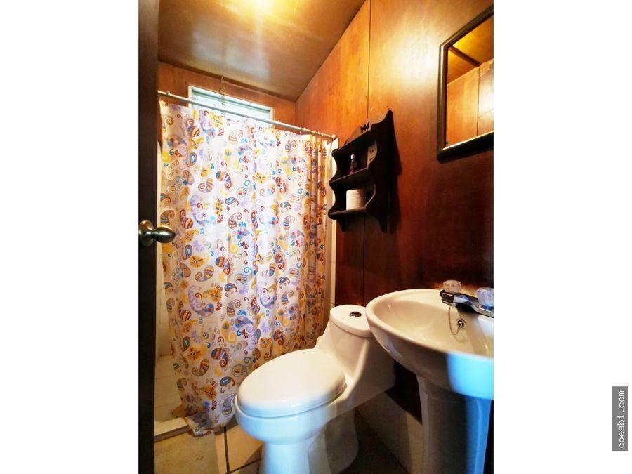 en renta casa pequena tipo campestre en residencial en san bartolome