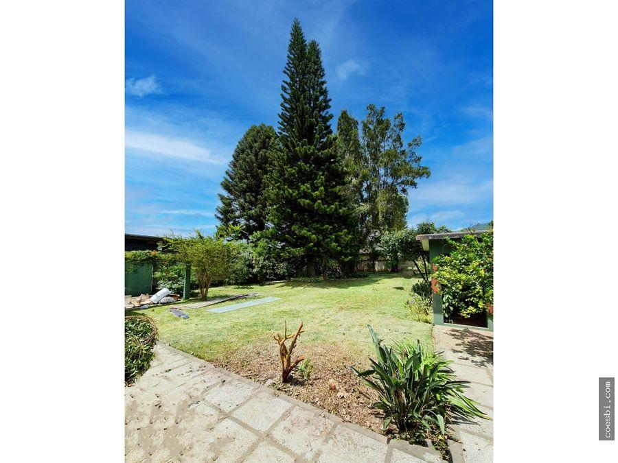 en renta casa comercial con 6 amb y jardin en san pedro el panorama