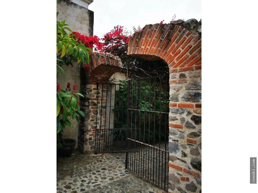 precioso apartamento en exclusivo residencial en antigua guatemala