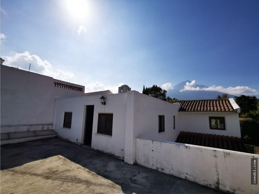 casa de 4 habs y dos niveles en san pedro el panorama antigua