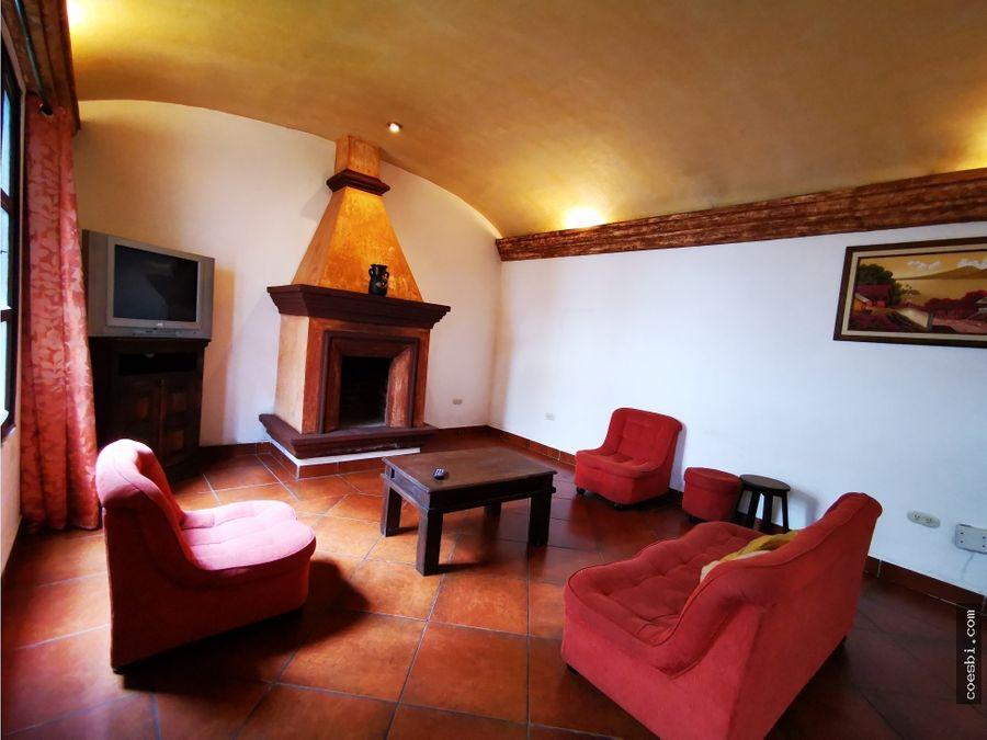 casa de cuatro habitaciones en alquiler en residencial antigua gt