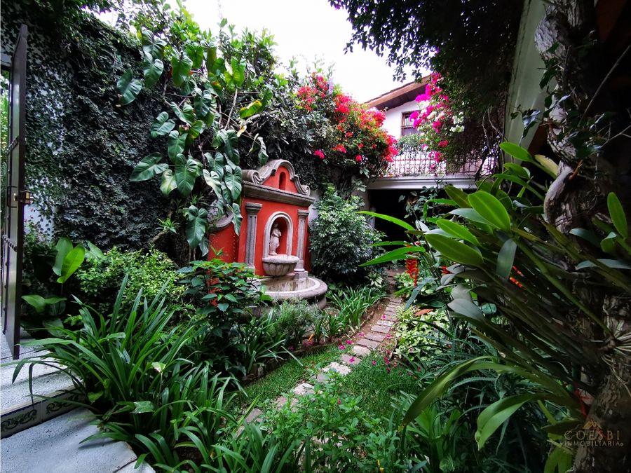 apartamento disponible en exclusivo residencial en antigua guatemala