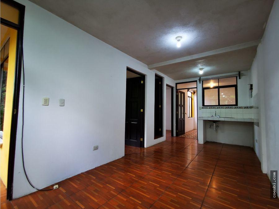 apartamento de dos habitaciones cerca de iglesia beatas de belen ant