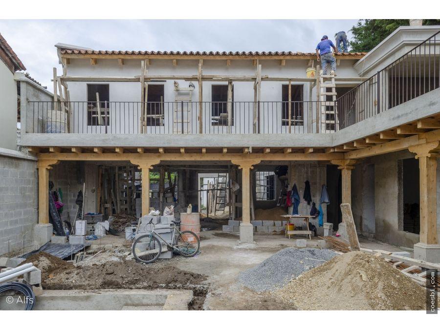 casa de 4 habitaciones en venta en san pedro el panorama obra gris
